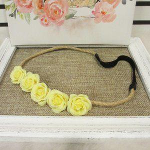 🛍3 for $20 Yellow Flower Headband